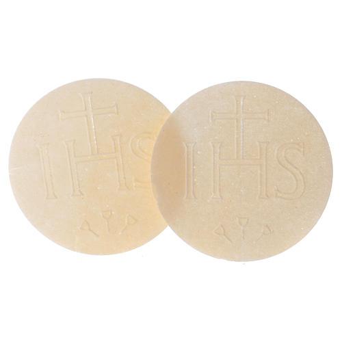 Thick altar bread 7.5 cm diameter 25 pcs bag 2