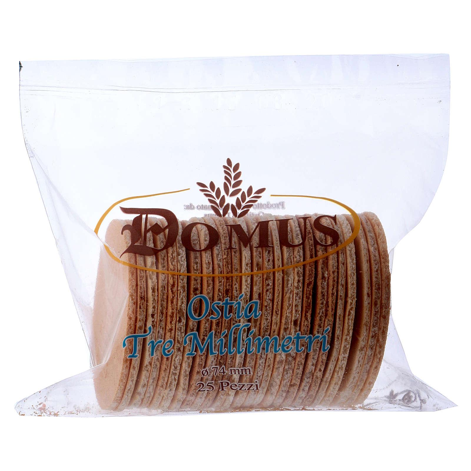Hostie-pain 25 pièces 7.4 cm, 3 mm épaisseur 3