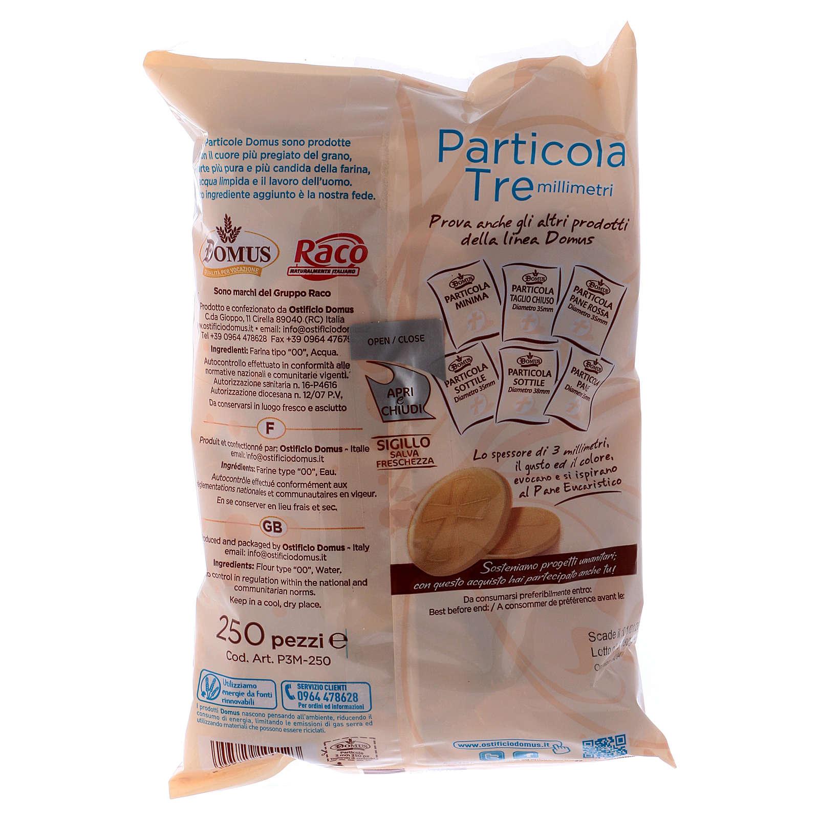 Partículas espessas 3,5 cm 3 mm espessura 250 unidades 3