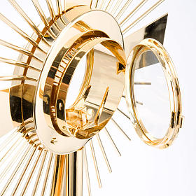 Concelebrating host monstrance classic style s6