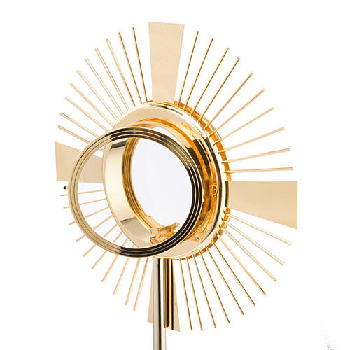 Concelebrating host monstrance classic style 3