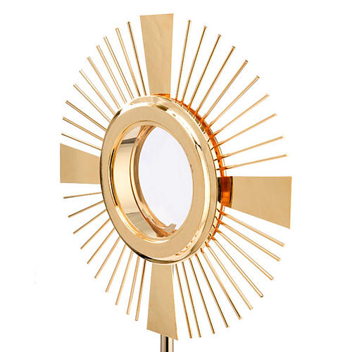 Concelebrating host monstrance classic style 5