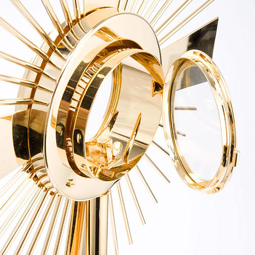 Concelebrating host monstrance classic style 6