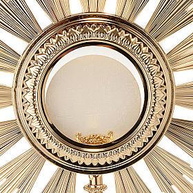 Ostensoir baroque en bronze doré s4