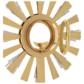 Monstrance with praying angel s5