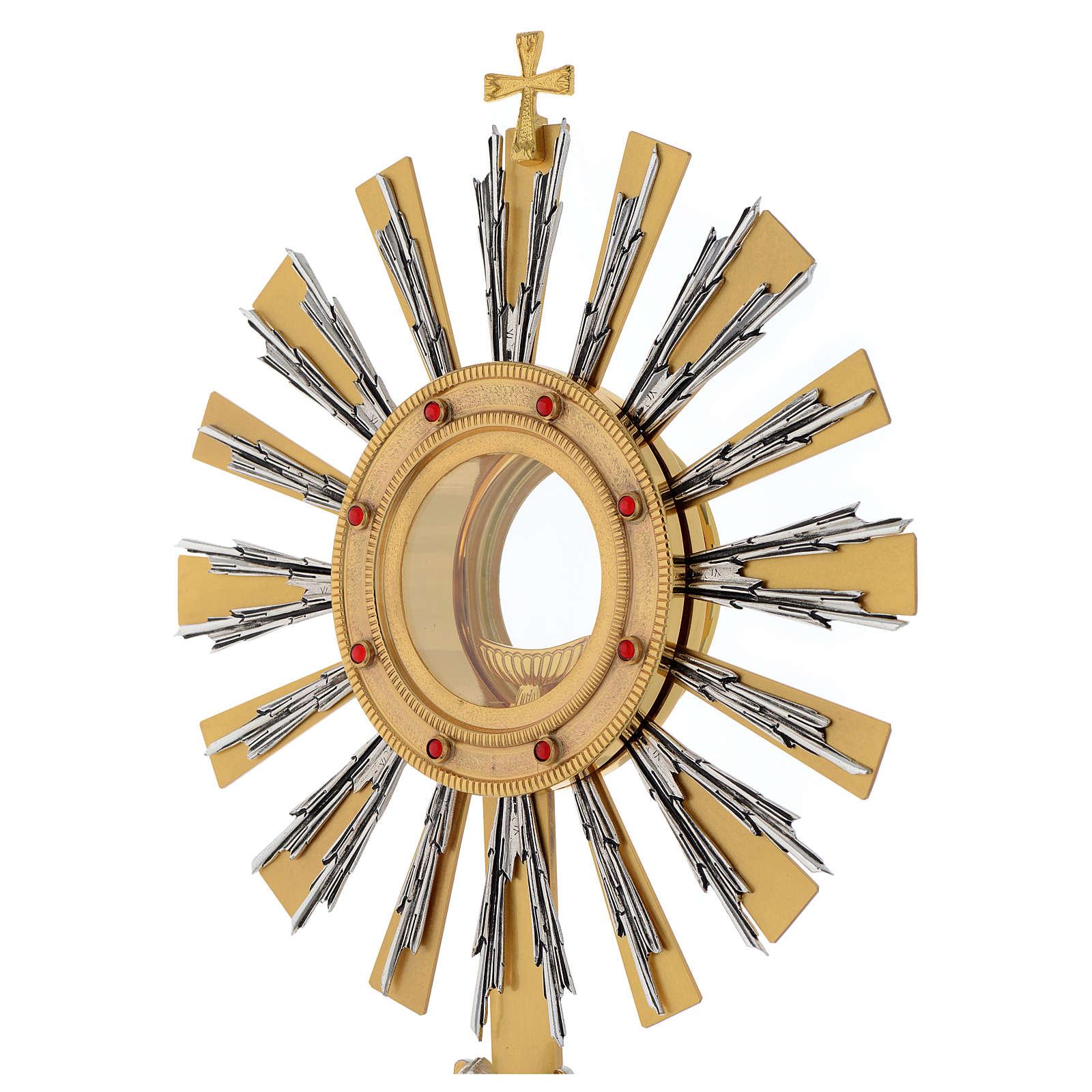Ostensoir avec ange en prière 4