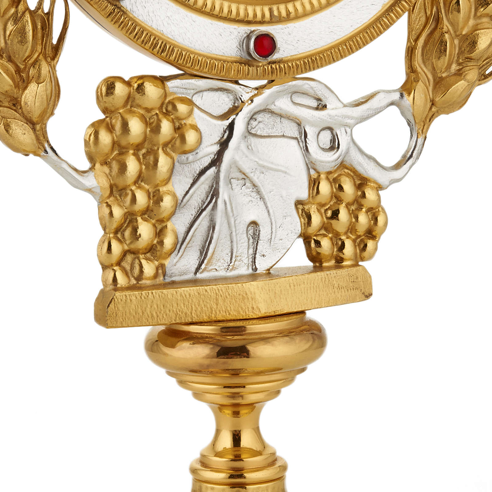 Monstrance with grapes and ears of wheat 4