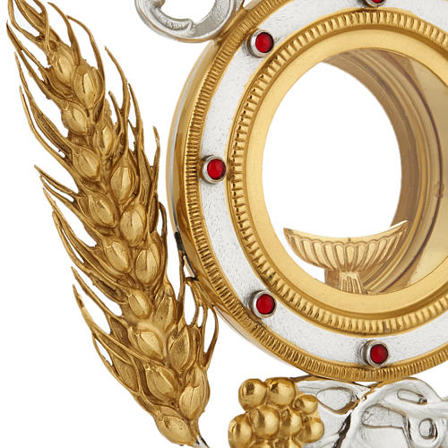 Monstrance with grapes and ears of wheat 2