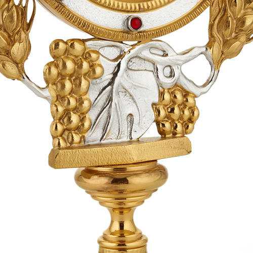 Monstrance with grapes and ears of wheat 3
