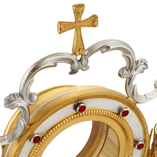 Monstrance with grapes and ears of wheat 5