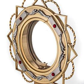 Ostensoir doré avec décors en argent s2