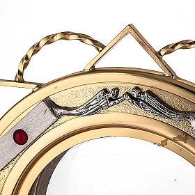 Ostensoir doré avec décors en argent s3