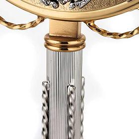 Ostensoir doré avec décors en argent s4