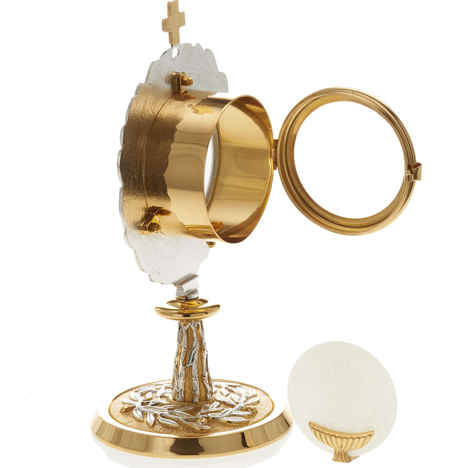 Monstrance with bay leaves 4