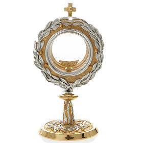 Monstrance with bay leaves s1