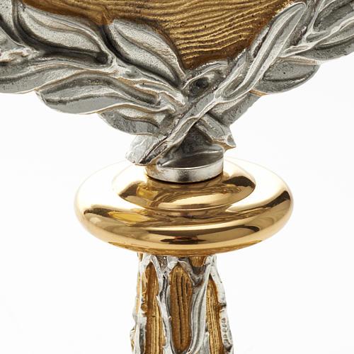 Ostensorio corona di alloro 3