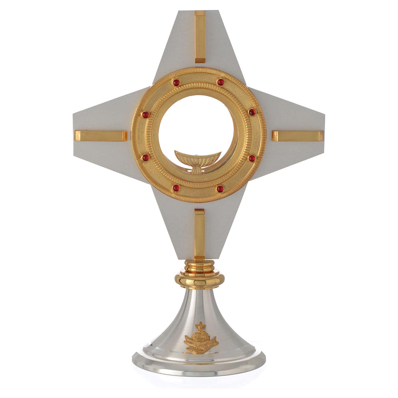 Ostensorio moderno cruz 4