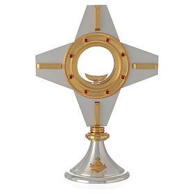 Ostensorio moderno croce s4