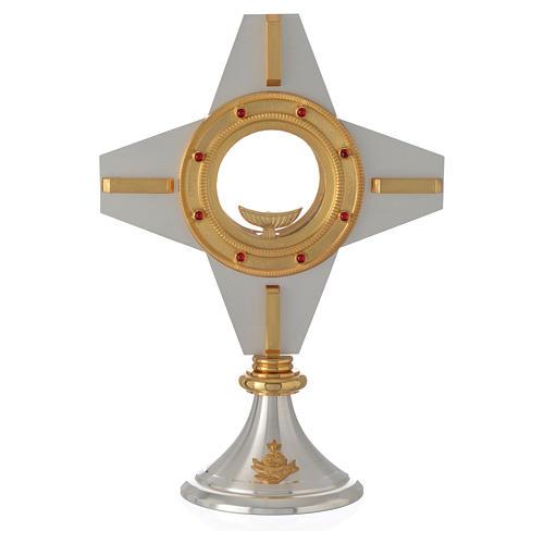 Ostensorio moderno croce 4