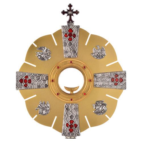 Ostensorio símbolos evangelistas 2