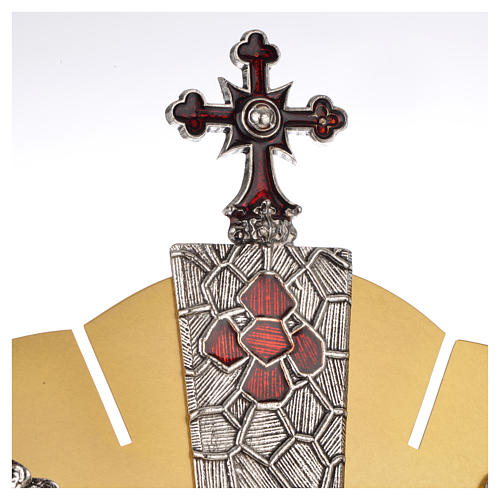 Ostensorio símbolos evangelistas 6