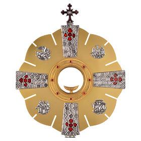 Ostensoir symboles évangiles s2