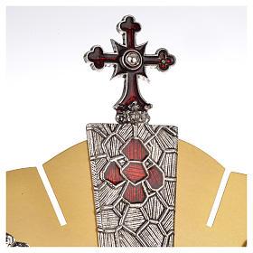 Ostensoir symboles évangiles s6