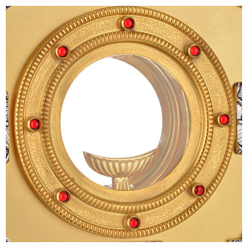 Ostensorio simboli evangelisti 3
