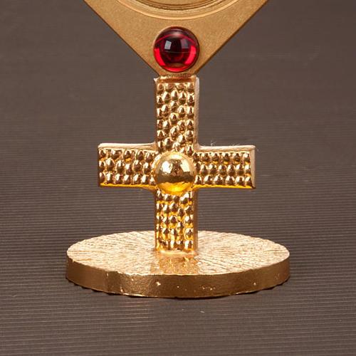 Reliquiario con pietre rosse 2