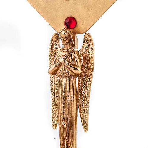 Relicario dorado con ángel 5