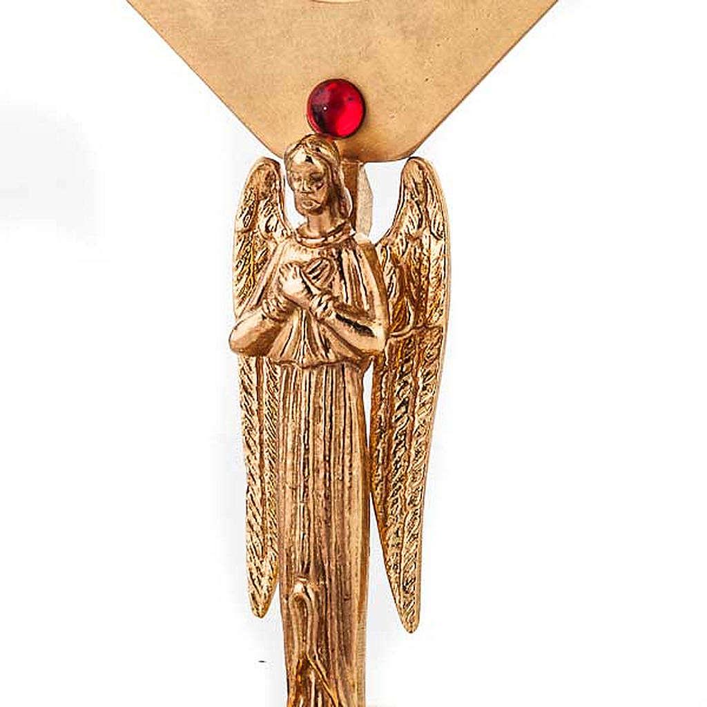 Reliquiario dorato con angelo 4