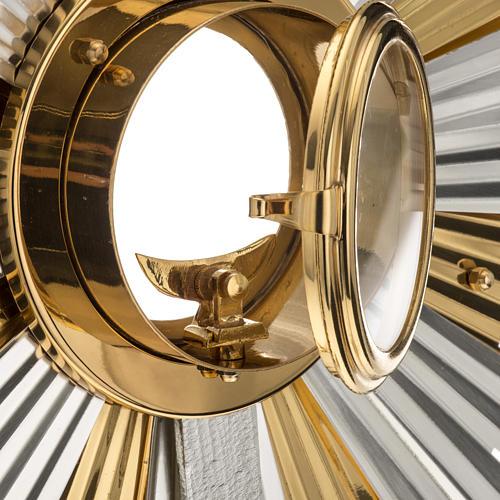 Ostensorio ostia concelebrazione decorato con angeli 7