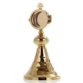 Ostensori, Teche, Reliquiari metallo: Mini ostensorio teca 3,5 cm