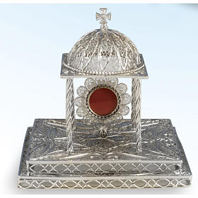 Reliquary in silver 800 with base s1