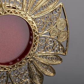 Reliquary in 800 silver filigree s3