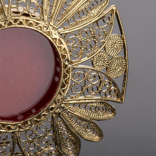 Reliquary in 800 silver filigree 3