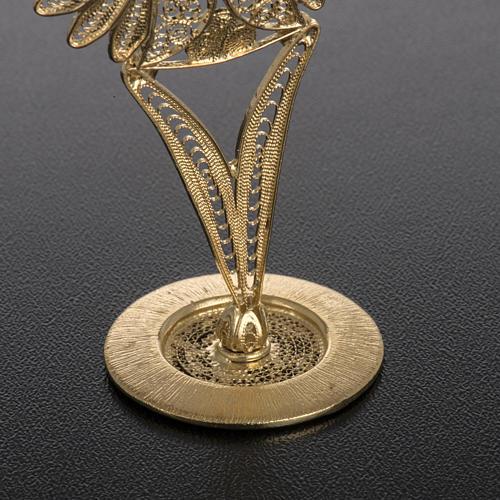 Reliquary in 800 silver filigree 4