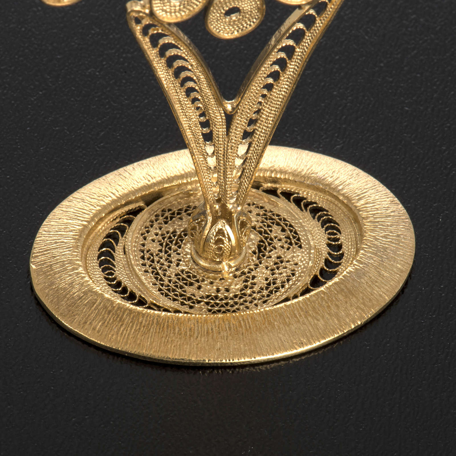 Reliquiario filigrana argento 800 petali 4