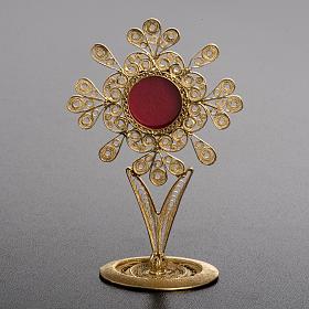 Reliquiario filigrana argento 800 petali s2