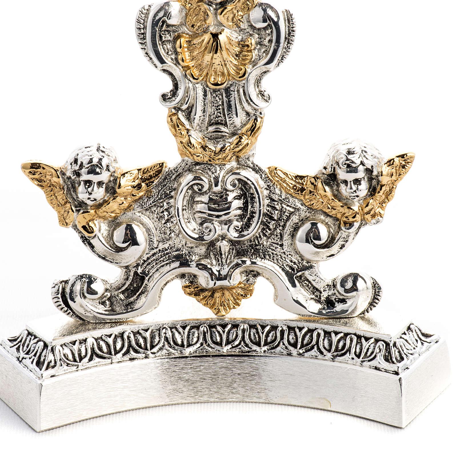 Relicário latão moldado bicolor anjos da guarda 4