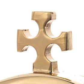 Ostensorio latón base plateada s3