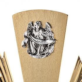 Ostensorio ostia magna 4 evangelisti nodo cristallo s2