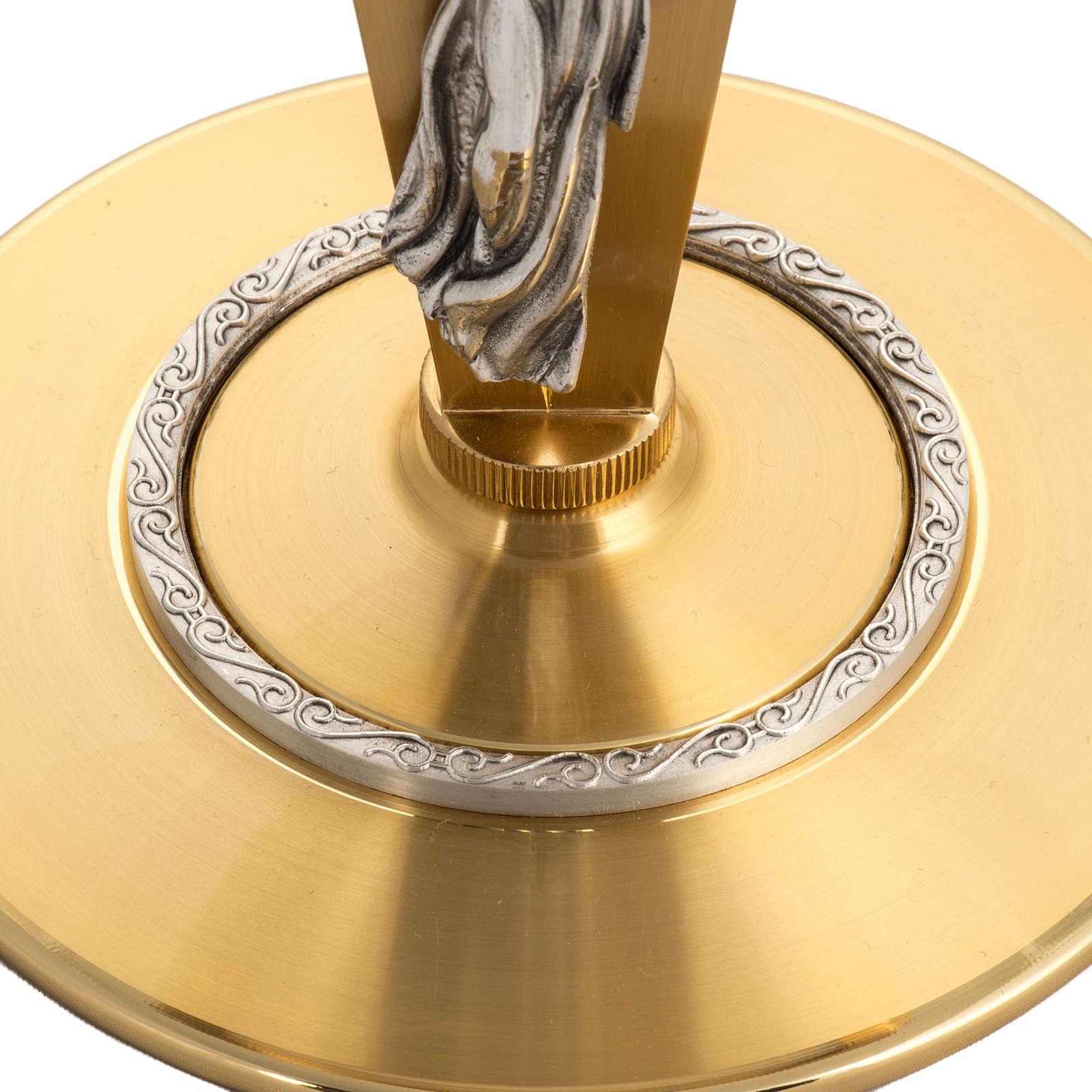 Ostensorio para hostia magna diam 15 cm con ángel 4