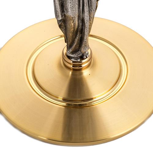 Teca per ostia magna diam 15 cm Cristo Risorto 3