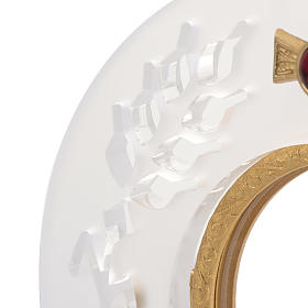 Ostensorio ottone e plexiglass s2