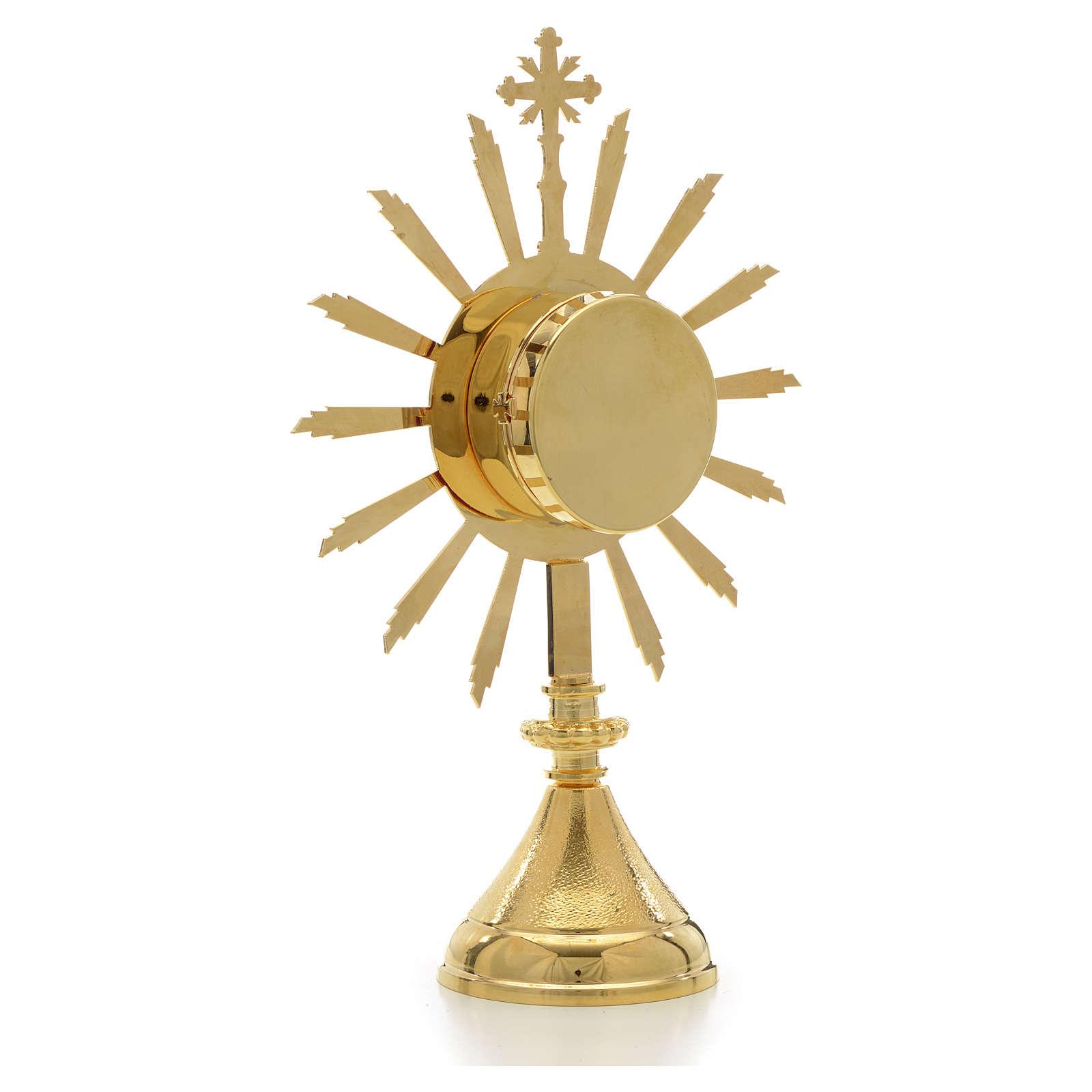 Reliquiario sole diam. 6 cm 4