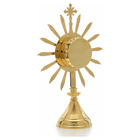 Reliquiario sole diam. 6 cm s3