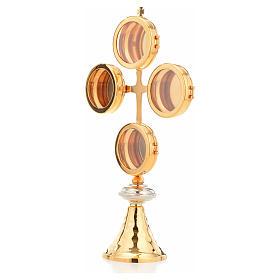 Naczynie na relikwie krzyż 4 kustodia s2