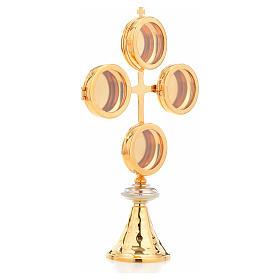 Naczynie na relikwie krzyż 4 kustodia s4