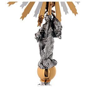 Custodia latón Swarovski estilo barroco con ángel s9